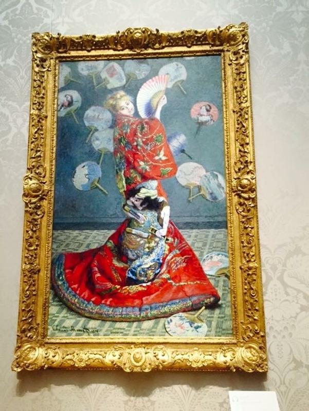 ボストン美術館で鑑賞したクロード・モネの『ラ・ジャポネーズ』