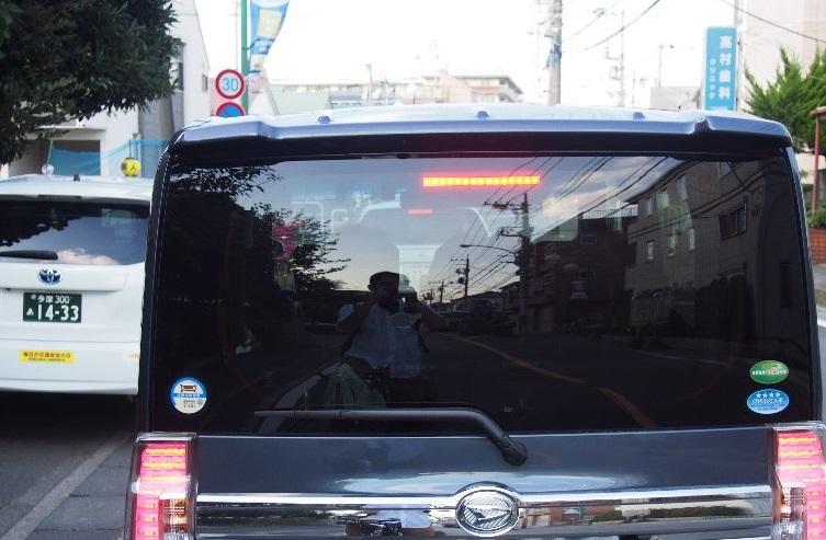 ▲主要道路なので、どうしても渋滞には悩まされる