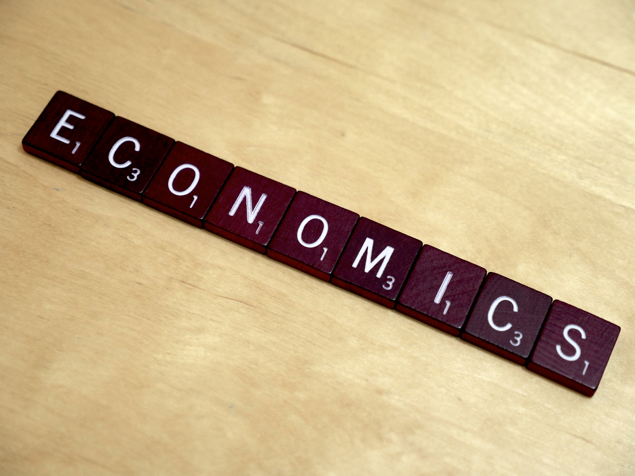 """Economics"""" by Simon Cunningham is licensed under CC BY 2.0"