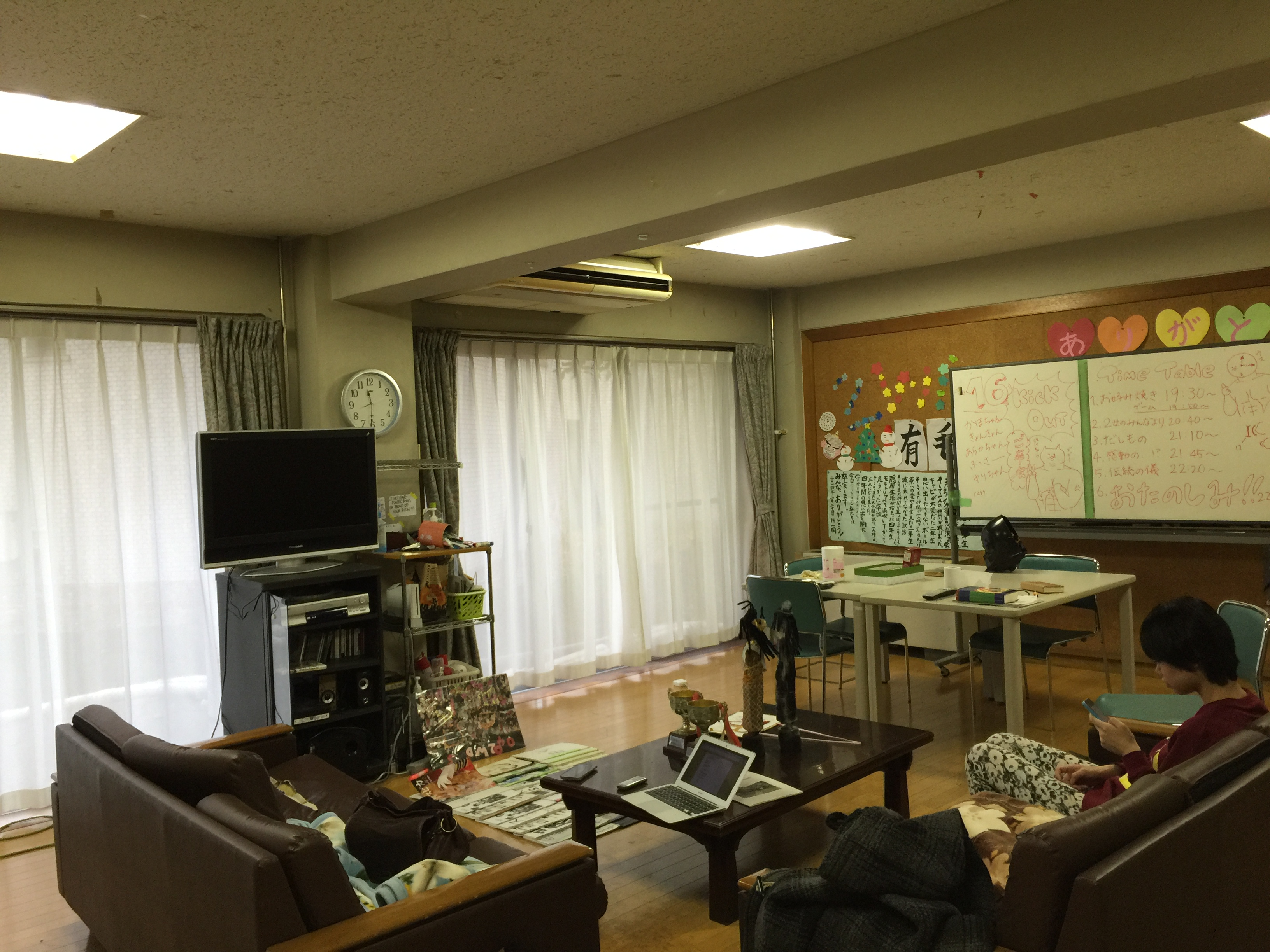 第二女子寮のソーシャルルーム