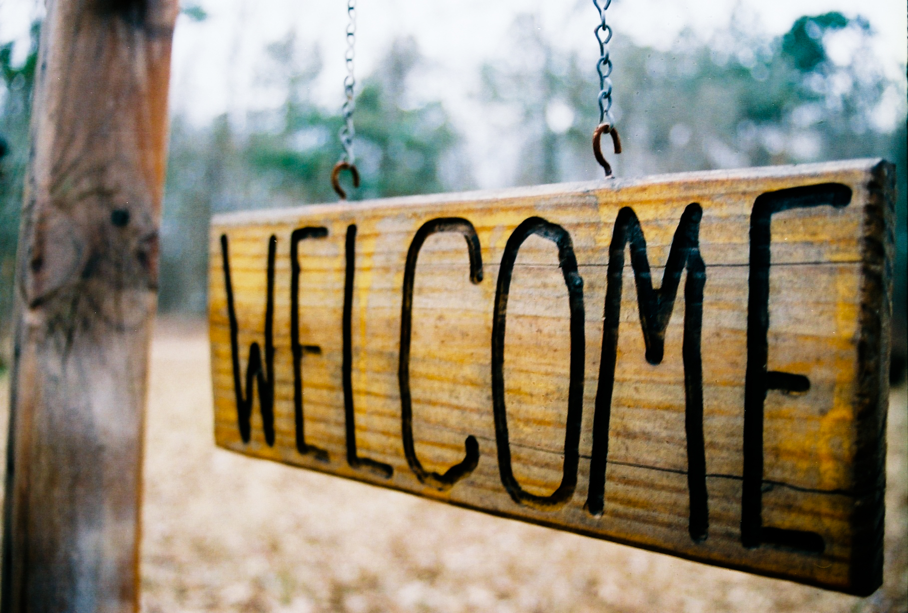 """Welcome"""" by Nathan is licensed under CC BY 2.0"
