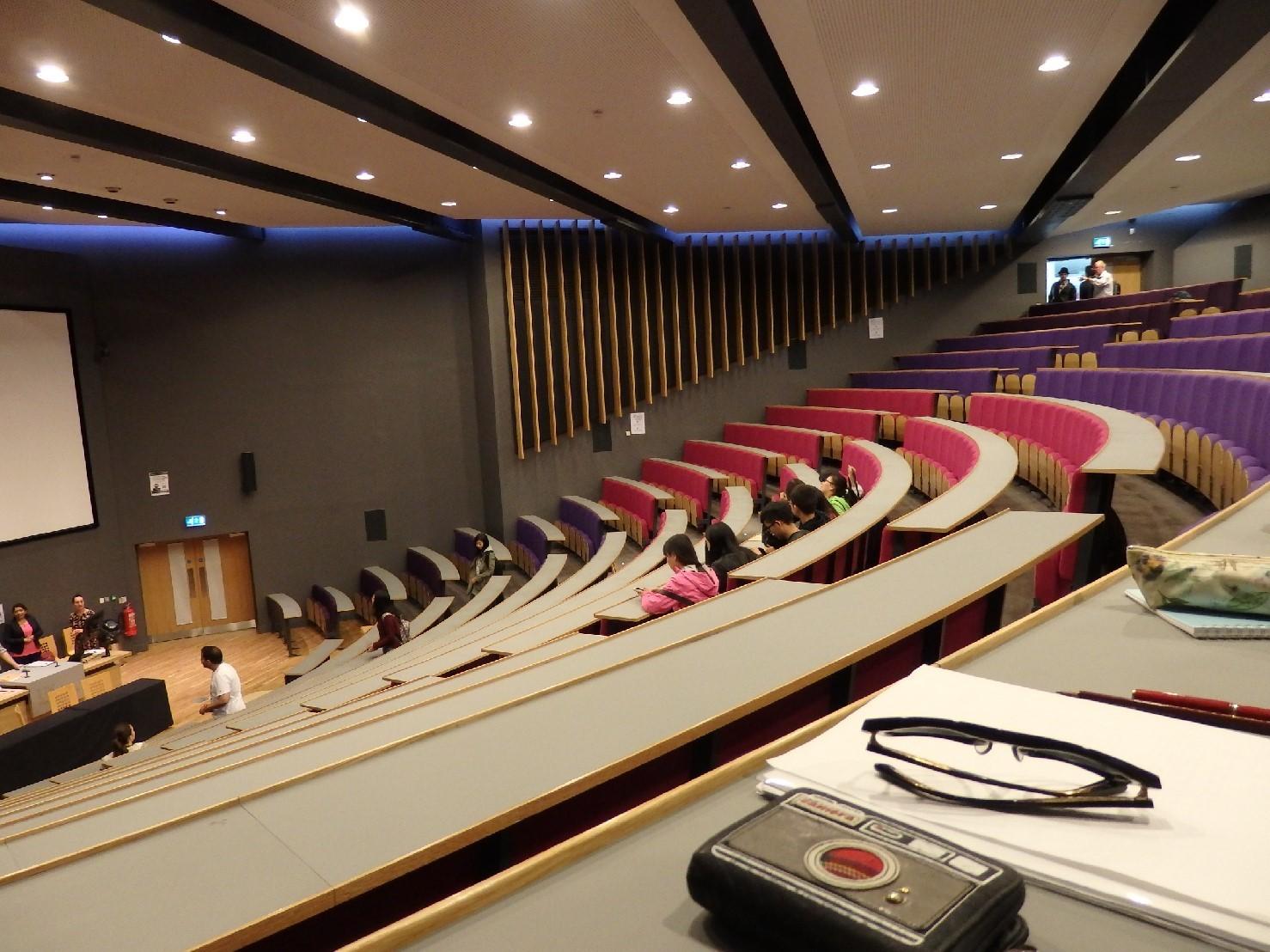 講義が行われたJubilee hall