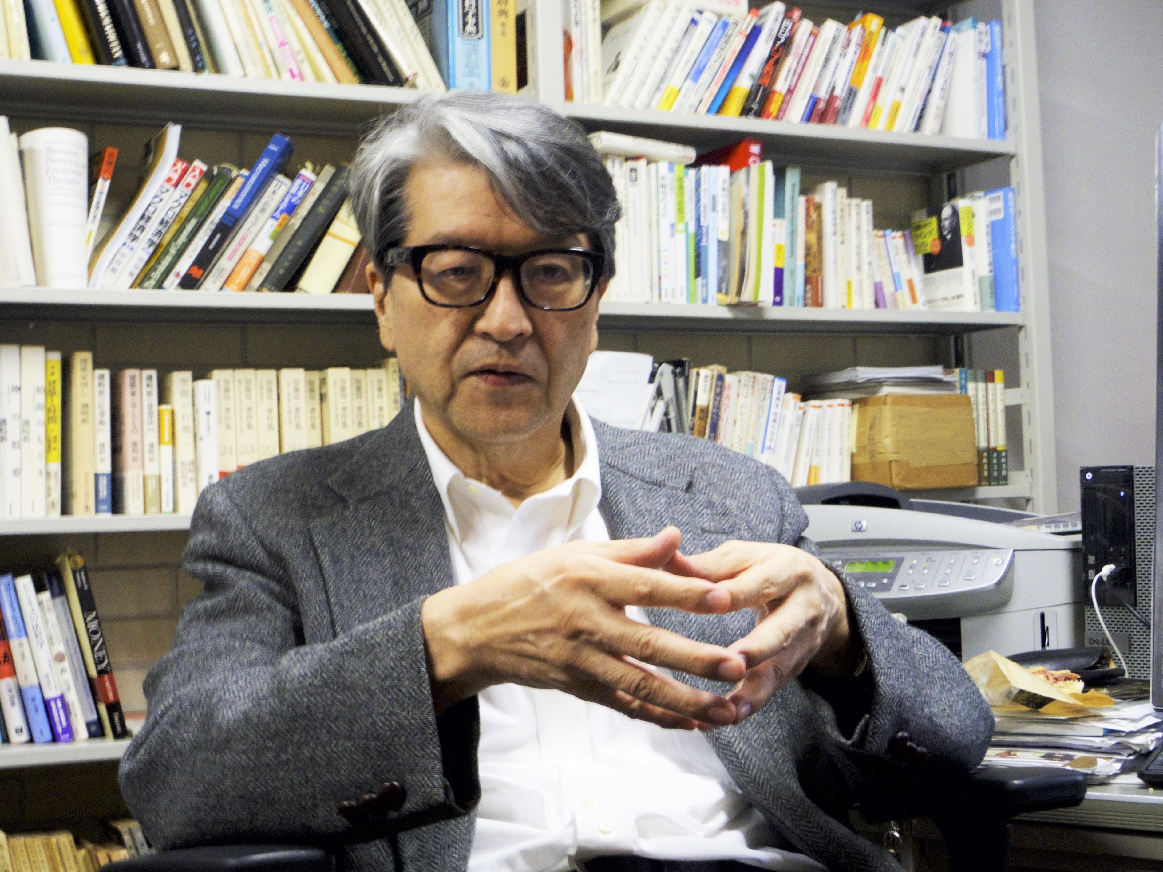 「トランプ大統領の登場により、不安定な世界が到来する」と語る岩井先生